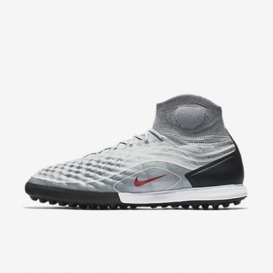 Chaussures de sport Nike MagistaX Proximo II TF homme Gris froid/Noir/Gris loup/Rouge intense