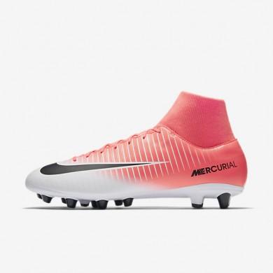 Chaussures de sport Nike Mercurial Victory VI Dynamic Fit AG-PRO homme Rose coureur/Blanc/Noir