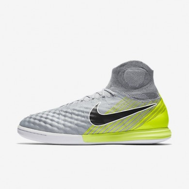 Chaussures de sport Nike MagistaX Proximo II IC homme Gris loup/Gris froid/Platine pur/Noir