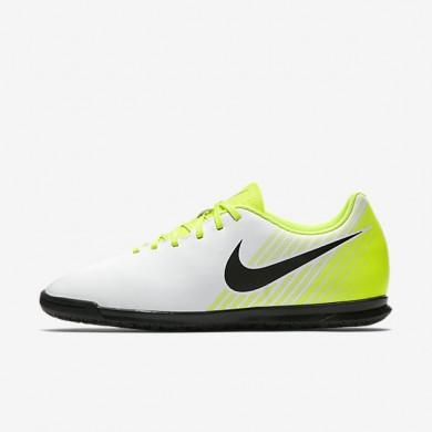 Chaussures de sport Nike Magista Ola II IC homme Blanc/Volt/Gris loup/Noir