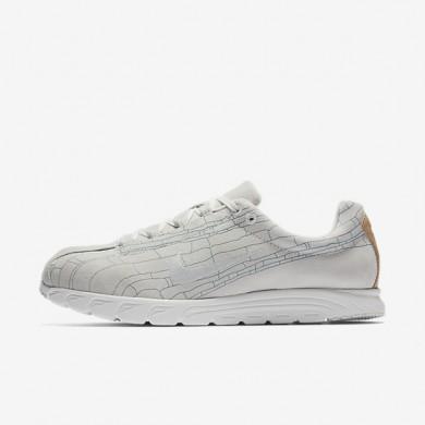 Chaussures de sport Nike Mayfly Premium homme Blanc cassé/Blanc sommet/Bleu fumeux/Blanc cassé