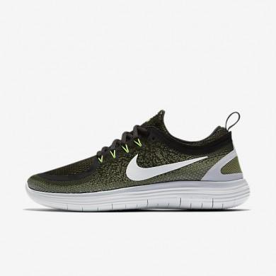 Chaussures de sport Nike Free RN Distance 2 homme Vert légion/Vert feuille de palmier/Noir/Blanc