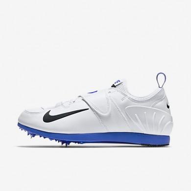 Chaussures de sport Nike Zoom Pole Vault II homme Blanc/Bleu coureur/Noir