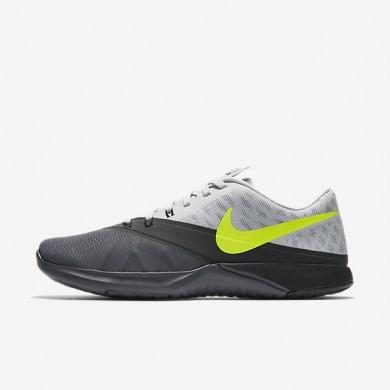 Chaussures de sport Nike FS Lite Trainer 4 homme Gris foncé/Platine pur/Anthracite/Volt