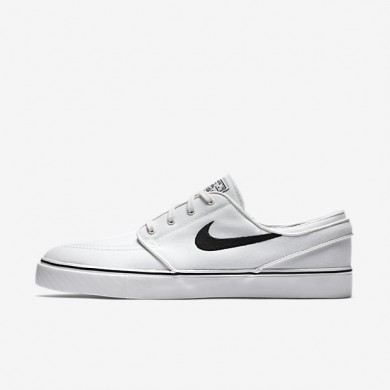 Chaussures de sport Nike SB Zoom Stefan Janoski Canvas homme Blanc sommet/Noir