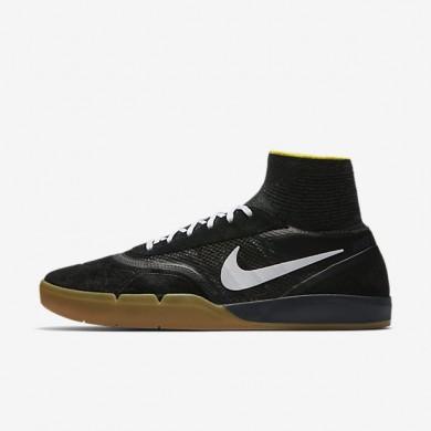 Chaussures de sport Nike SB Koston 3 Hyperfeel homme Noir/Jaune Strike/Gomme marron clair/Blanc
