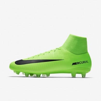 Chaussures de sport Nike Mercurial Victory VI Dynamic Fit AG-PRO homme Vert électrique/Citron flash/Blanc/Noir