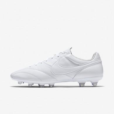 Chaussures de sport Nike Premier FG homme Blanc/Blanc/Blanc/Blanc