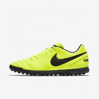 Chaussures de sport Nike Tiempo Rio III homme Volt/Volt/Noir