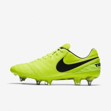 Chaussures de sport Nike Tiempo Legend VI SG-PRO homme Volt/Volt/Noir