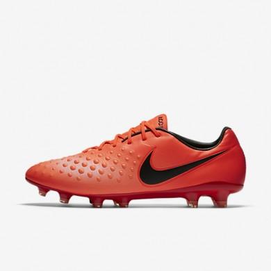 Chaussures de sport Nike Magista Opus II homme Cramoisi total/Rouge université/Mangue brillant/Noir