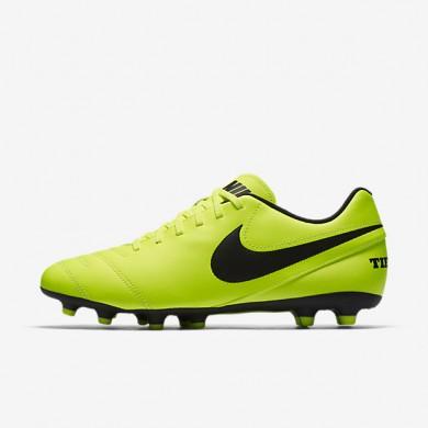 Chaussures de sport Nike Tiempo III FG homme Volt/Volt/Noir