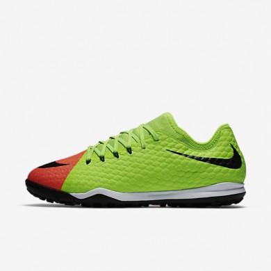 Chaussures de sport Nike HypervenomX Finale II pour Homme homme Vert électrique/Hyper orange/Mangue brillant/Noir