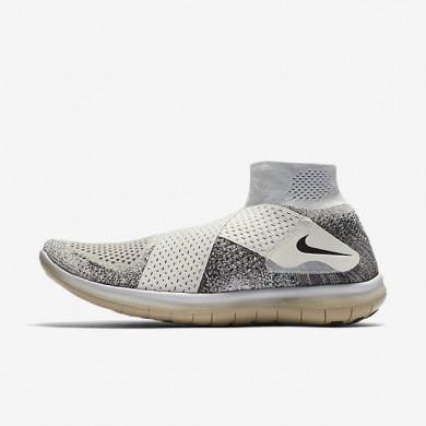 Chaussures de sport Nike Lab Free RN Motion Flyknit 2017 homme Voile/Noir/Champignon/Noir