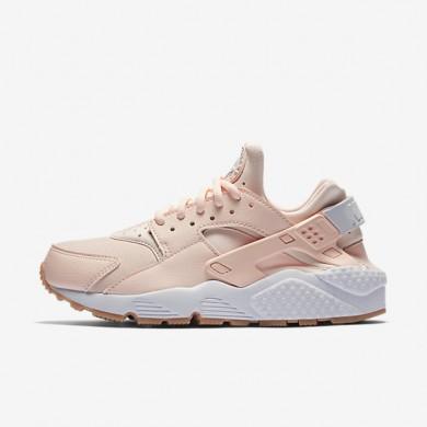 Chaussures de sport Nike Air Huarache femme Teinte coucher de soleil/Jaune gomme/Blanc