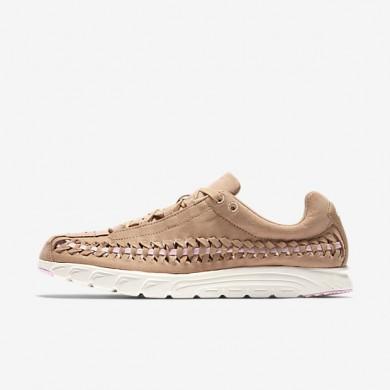 Chaussures de sport Nike Mayfly Woven femme Brun vachette/Orme/Voile/Rose arctique