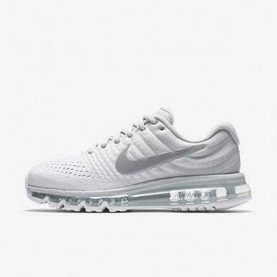 Chaussures de sport Nike Air Max 2017 femme Platine pur/Blanc/Blanc cassé/Gris loup