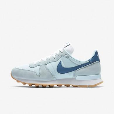 Chaussures de sport Nike Internationalist femme Bleu glacier/Blanc sommet/Bleu industriel