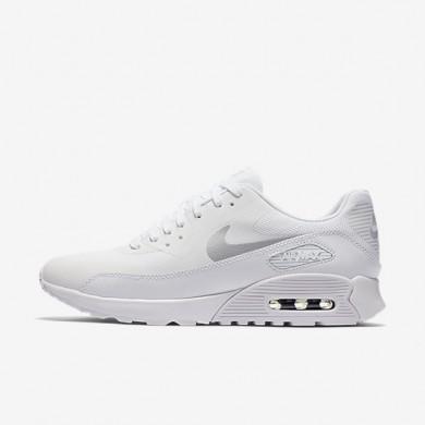 Chaussures de sport Nike Air Max 90 Ultra 2.0 femme Blanc/Blanc/Noir/Platine métallisé