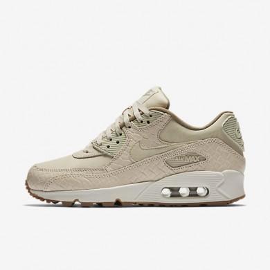 Chaussures de sport Nike Air Max 90 Premium femme Flocons d'avoine/Voile/Kaki/Flocons d'avoine