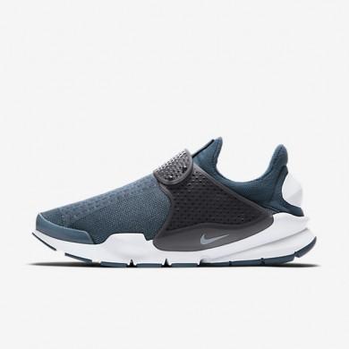 Chaussures de sport Nike Sock Dart femme Bleu escadron/Anthracite/Blanc/Bleu glacier