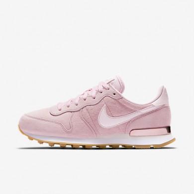 Chaussures de sport Nike Internationalist SD femme Rose prisme/Blanc/Voile/Rose prisme