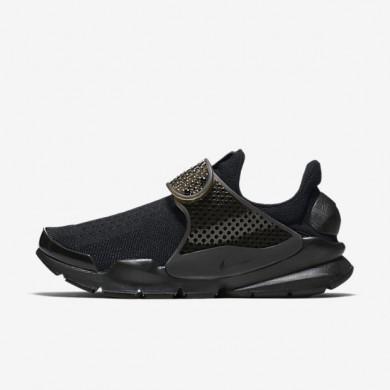 Chaussures de sport Nike Sock Dart femme Noir/Volt/Noir