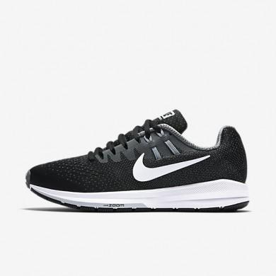 Chaussures de sport Nike Air Zoom Structure 20 femme Noir/Gris froid/Gris loup/Blanc