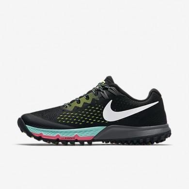 Chaussures de sport Nike Air Zoom Terra Kiger 4 femme Noir/Volt/Hyper turquoise/Blanc