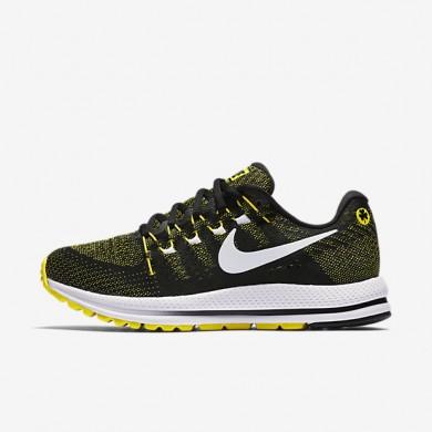 Chaussures de sport Nike Air Zoom Vomero 12 femme Noir/Jaune Strike/Blanc