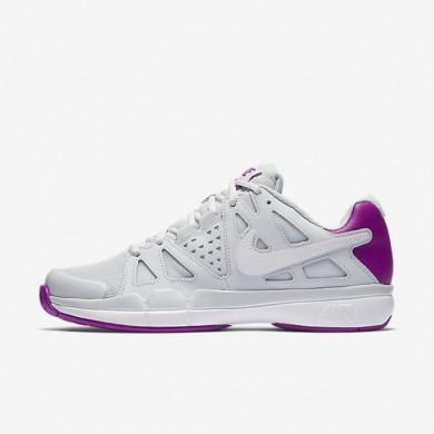 Chaussures de sport Nike Court Air Vapor Advantage femme Platine pur/Mauve vif/Blanc/Blanc