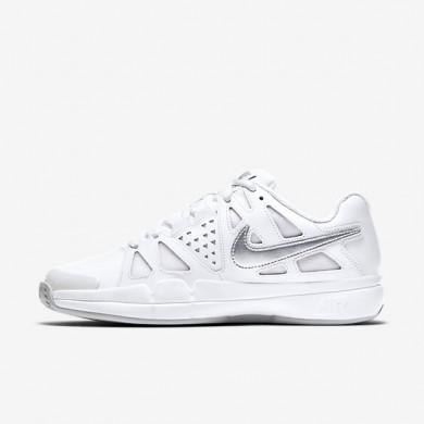 Chaussures de sport Nike Court Air Vapor Advantage Clay femme Blanc/Platine pur/Argent métallique