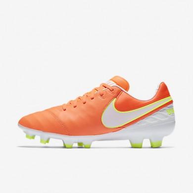 Chaussures de sport Nike Tiempo Legacy II FG femme Aigre/Volt/Hyper rose/Blanc