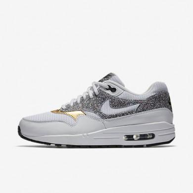 Chaussures de sport Nike Air Max 1 SE femme Blanc/Noir/Blanc/Blanc