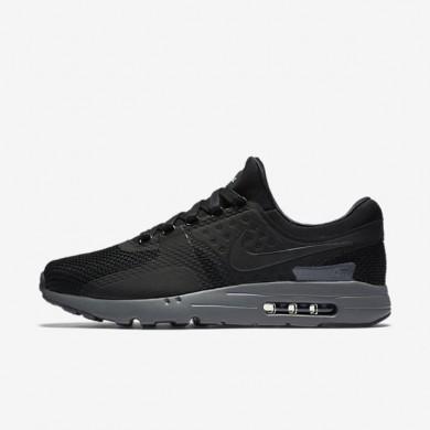 Chaussures de sport Nike Air Max Zero femme Noir/Gris foncé/Noir