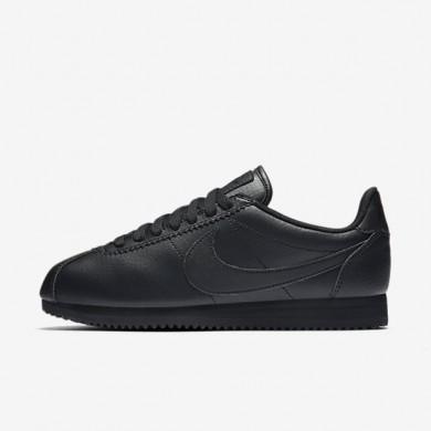 Chaussures de sport Nike Beautiful x Classic Cortez Premium femme Noir/Noir/Noir