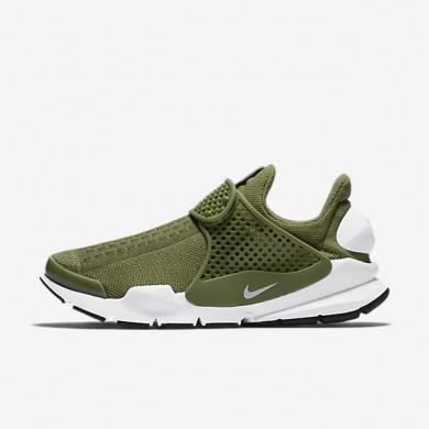 Chaussures de sport Nike Sock Dart femme Vert feuille de palmier/Noir/Blanc