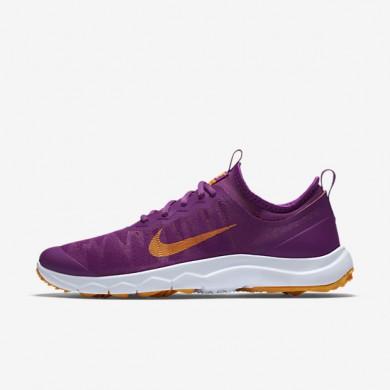 san francisco fc108 ccec1 Chaussures de sport Nike FI Bermuda femme Violet cosmique Blanc Orange vif