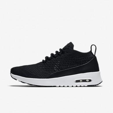 Chaussures de sport Nike Air Max Thea Ultra Flyknit PNCL femme Noir/Blanc/Noir